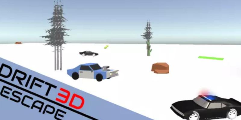 Drift escape 3D - Unity game