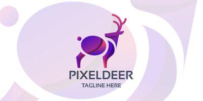 Pixel Deer Logo
