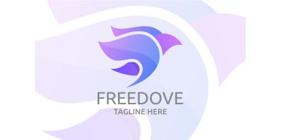 Free Dove Logo