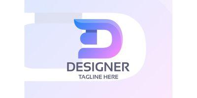 Designer Letter D Logo