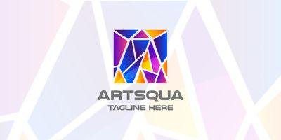 Art Squa Letter A Logo