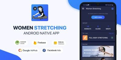 Women Stretching Exercises - Android Kotlin