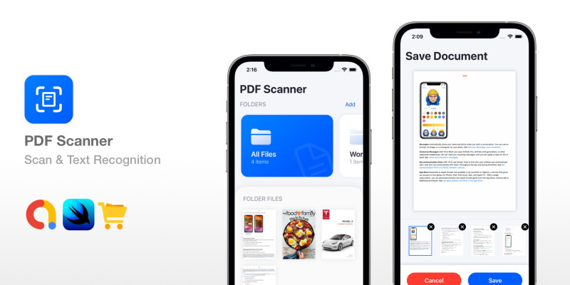 PDF Scanner - SwiftUI Text Recognition OCR