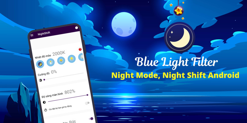 Blue Light Filter - Night Mode Android