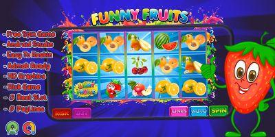 Funny Fruits Slot Machine - Android Studio