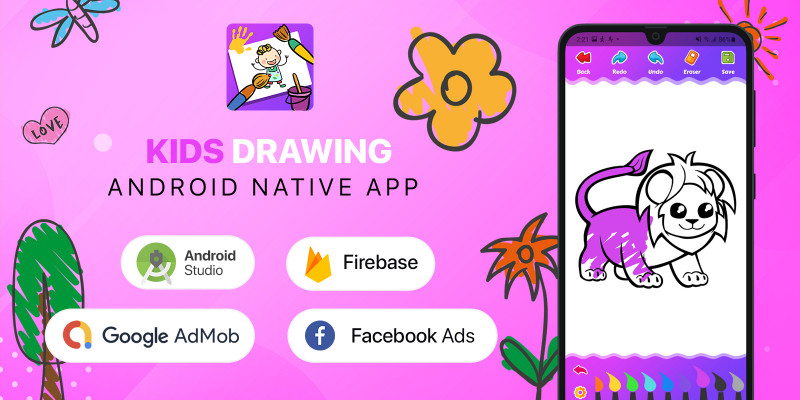 Kids Drawing - Android Kotlin