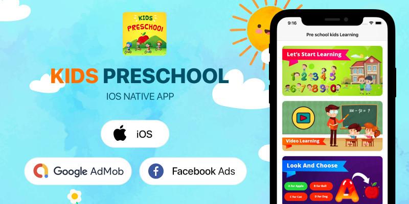 Kids Preschool - iOS App Source Code