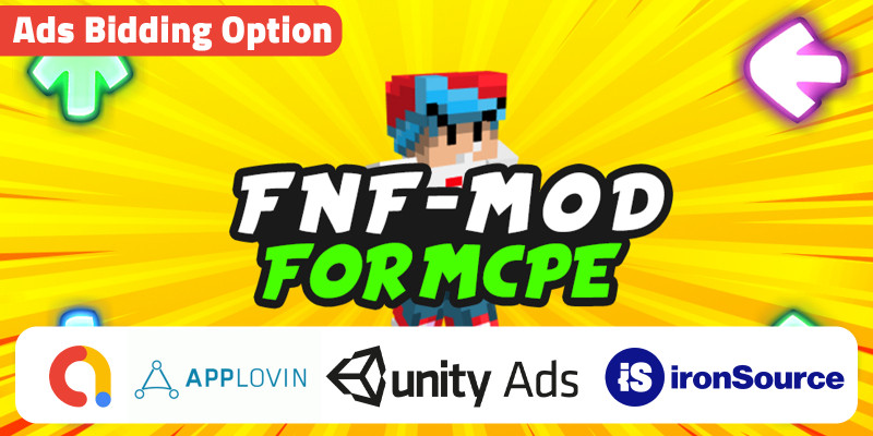 FNF Skin And Mod For MCPE Unity With Iron Source