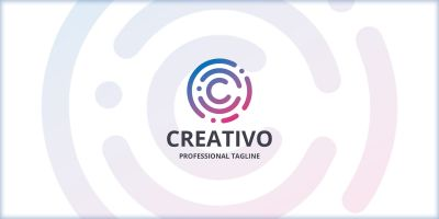 Creative Round Letter C Logo