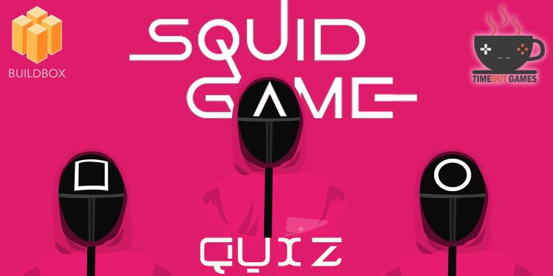Squid Game Quiz - Full Buildbox Game