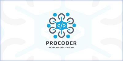 Professional Coder Logo