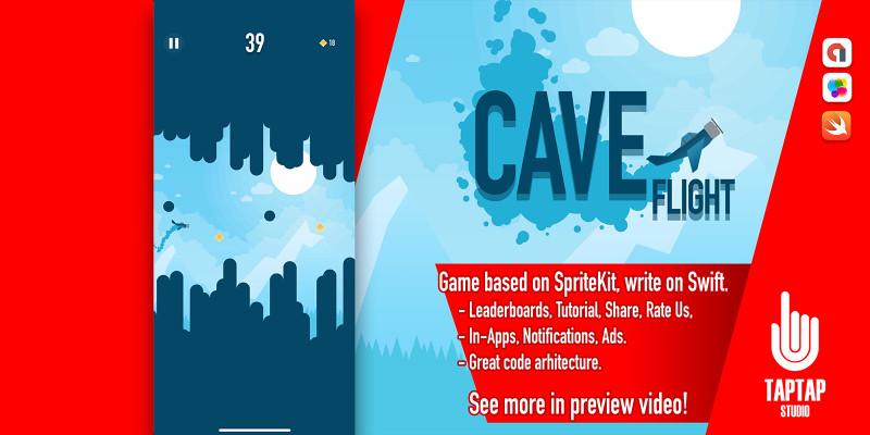 Cave Flight - iOS Source Code