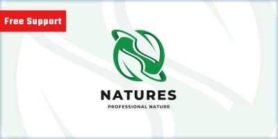 World Nature Leaf Logo