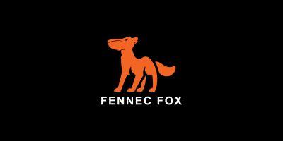 Fennec Fox  Logo Template