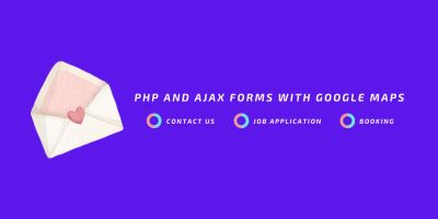 AF - PHP And Ajax Forms With Google Map