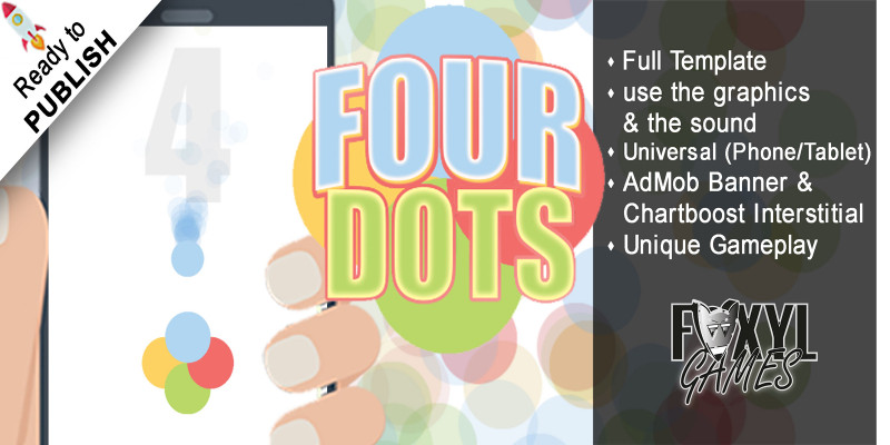 Four Dots - Buildbox Template