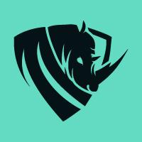 Rhino Flat Logo Template