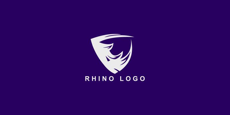 Rhino Creative  Vector Logo Template