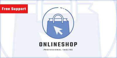 Online Shop Company Logo