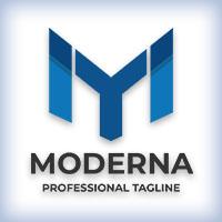 Modern Letter M Company Logo