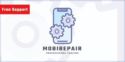 Mobile Repair Logo