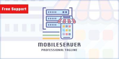Mobile Server Logo