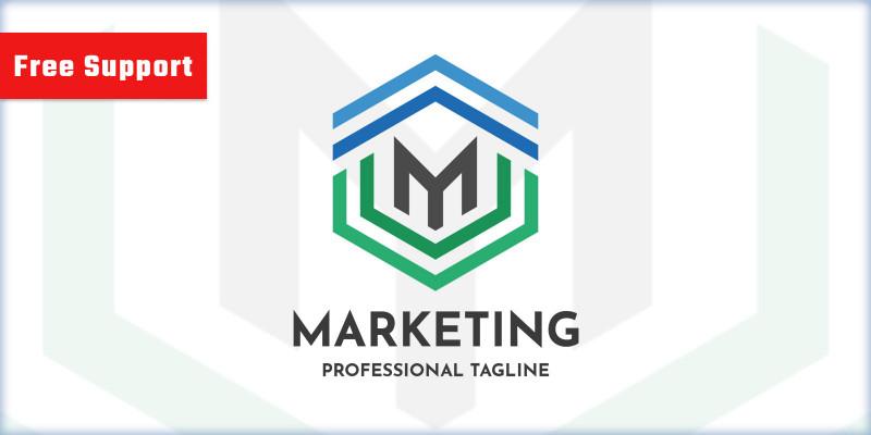 Marketing Letter M Logo