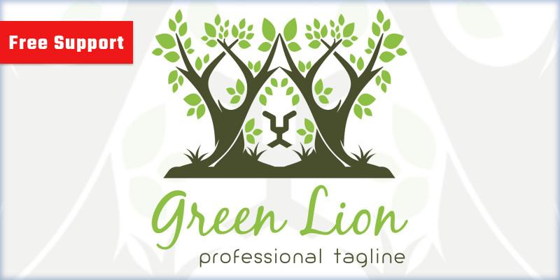 Green Lion Logo