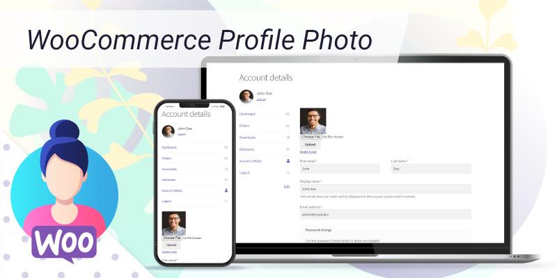WooCommerce Profile Photo