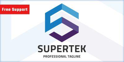 Supertek Letter S Logo