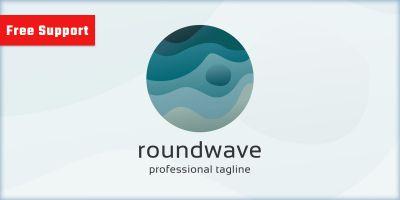 Round Wave Logo