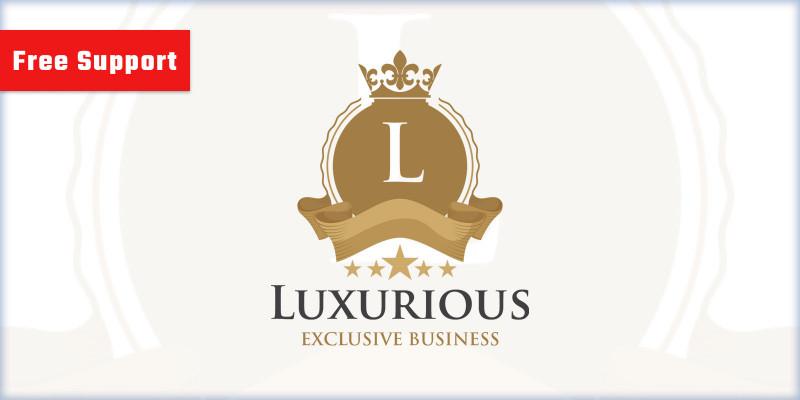 Luxurious v2 Logo