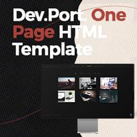 DevPort - Responsive One Page Portfolio