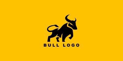 Bull Vector Logo Template