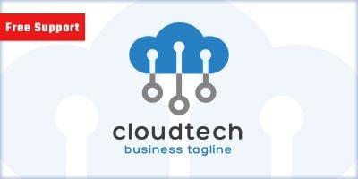 Cloud Tech Company Logo