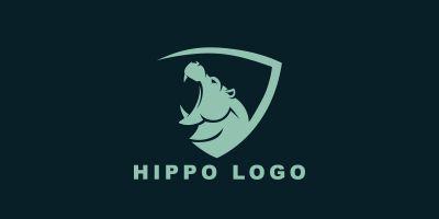 Hippo Vector Logo