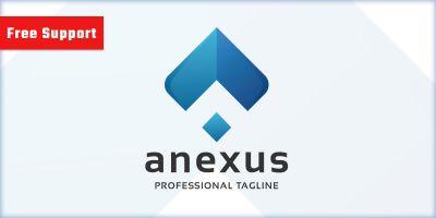 Anexus Letter A Company Logo