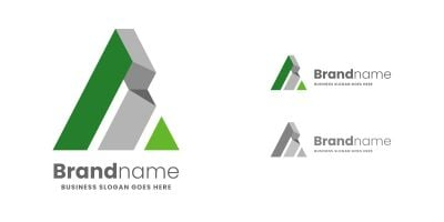 A Letter Architecture Logo