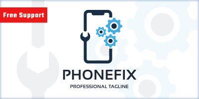 Phone Repair Fix Logo