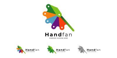 Hand Fan And HandCraft Logo