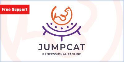 Jump Cat Logo