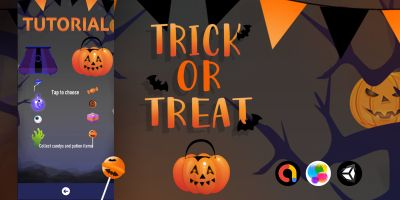 Trick Or Treat - Unity Source Code