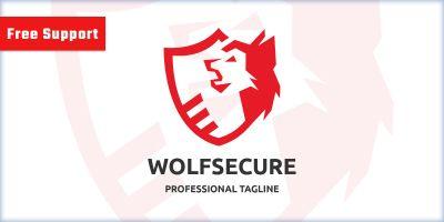 Wolf Secure Logo