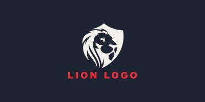 Lion Brave Logo Design