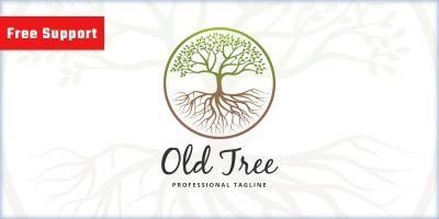 Old Tree Logo