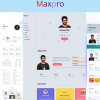 Maxpro Responsive Portfolio HTML5 Template