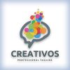 Creative Brain Tech Logo