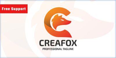 Creative Fox Letter C Logo