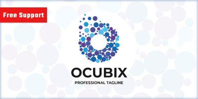 Ocupix Letter O Logo