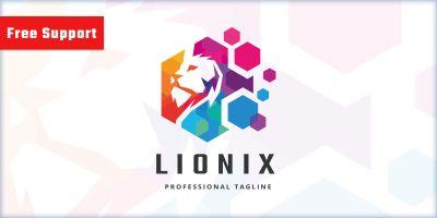 Virtual Lion Logo